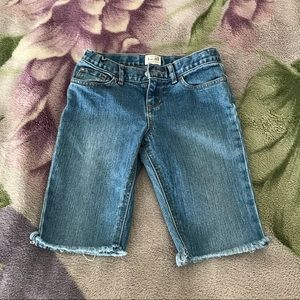 Jean shorts for young girls